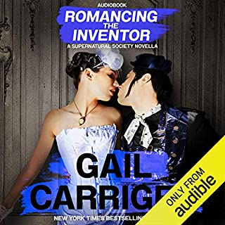 Romancing the Inventor audiobook cover art