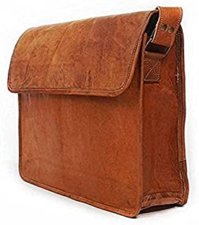 TUZECH Unisex Cross Shoulder Full Flap Messenger Bag Fits Laptop Up To 15 Inches