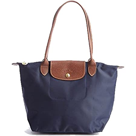 Longchamp Le Pliage Nylon Medium Shoulder Tote Handbag Purse