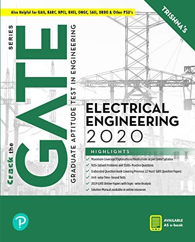 GATE Electrical Engineering First Edition By Pearson