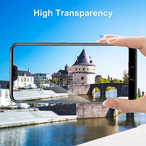 CRXOOX 3 Stück Schutzfolie für Huawei Honor 10 Panzerglas, 9H Härte HD Klar Displayschutzfolie, Anti-Kratzer/Bläschen/Fingerabdruck/Staub Einfache Installation Honor 10 Panzerglasfolie Folie - 4