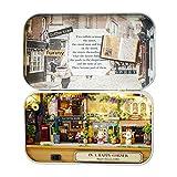 HEEPDD DIY Mini Hölzernes Puppenhaus Miniaturen, 3D Puzzles DreamHouse Handgemachte Miniatur DIY...