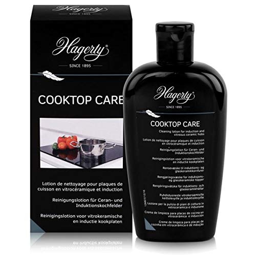 Hagerty - Cooktop Care - 250 ml - Liquide nettoyant pour plaques de cuisson en vitrocéramique et à induction