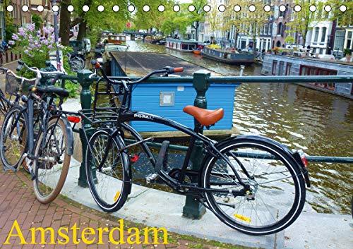 Amsterdam (Tischkalender 2021 DIN A5 quer)