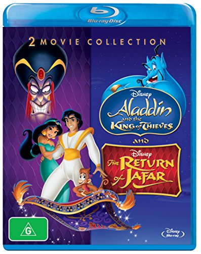 ALADDIN: KING OF THIEVES / RETURN OF JAFAR - ALADDIN: KING OF THIEVES / RETURN OF JAFAR (1 Blu-ray)