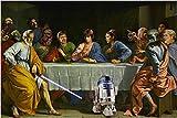 Star Wars Last Supper Art Poster Funny kultigen