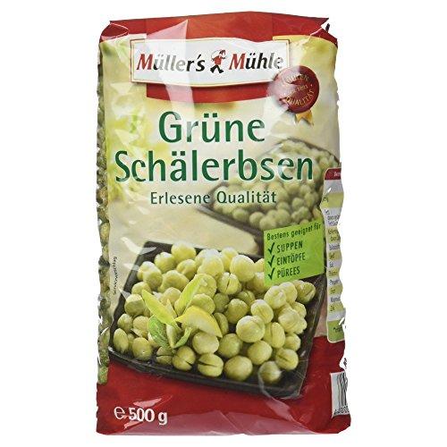 Müller's Mühle Grüne Schälerbsen, 500 g