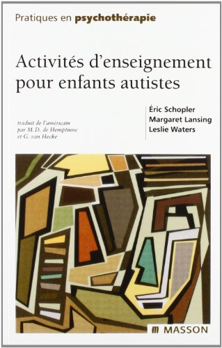 Activités d'enseignement pour enfants autistes
