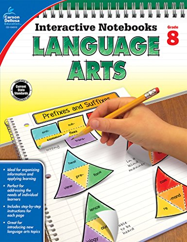 Language Arts, Grade 8 (Interactive Notebooks)