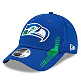 New Era Seattle Seahawks Throwback 2021 NFL Sideline Stretch-Snap 9FORTY Cap Home, One Size