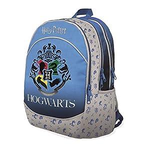 Harry Potter Mochila escolar organizada con 3 cremalleras 20