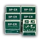 BP ER Elite Emergency Food 6 x 500 Gramm Einheiten, Camping Outdoor Vorsorge vom führenden Hersteller GC Rieber Compact aus Norwegen (Charge 2021 und Zertifikat vom Händler Lebenskraft)