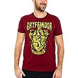 Elbenwald Camiseta Harry Potter con Abrigos de la casa de Hogwarts Gryffindor...
