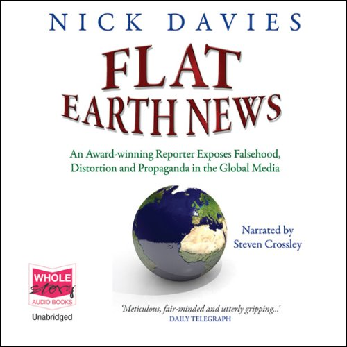 Flat Earth News audiobook cover art