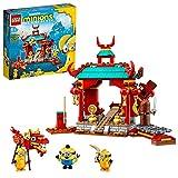 LEGO Minions La Battaglia Kung Fu dei Minions con i Personaggi dei Minion Kevin, Stuart e Otto, 75550