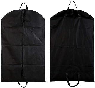 PLATINUM 2 Pcs Garment Covers for Clothes, Foldable Dustproof Clothes Covers for Clothes Suit, 100x60cm