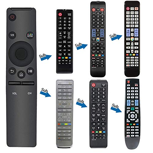 Universal Remote Replacement for Samsung TV Remotes BN59-01259B BN59-01260A BN59-01292A BN59-01259D and 4K UHD 6 Series 7 Series UN   43 NU50 NU55 NU65 NU75 KS Models with 3 Years Warranty