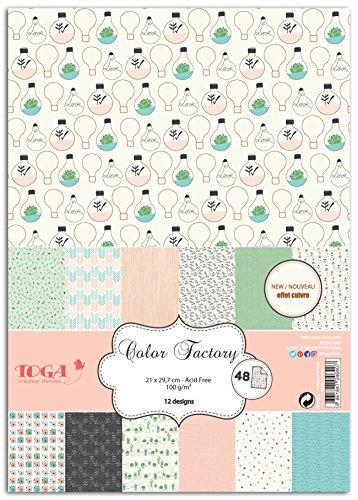 Toga - PPK001 Nacimiento, Papel, Positive Attitude, 21 x 29,7 x 0,7 cm