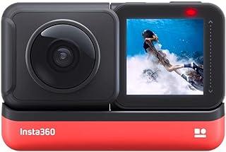 Insta360 One R Cámara de Acción Deportiva Adaptativa Control de Voz IPX8 Impermeable (360 Edition)