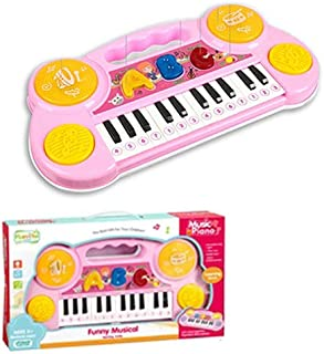 BERRY Piano ABC Musical Instrument Toy (Pink)