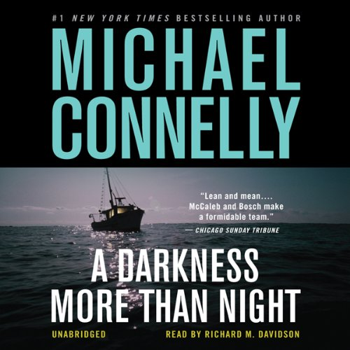 Page de couverture de A Darkness More than Night: Harry Bosch Series, Book 7