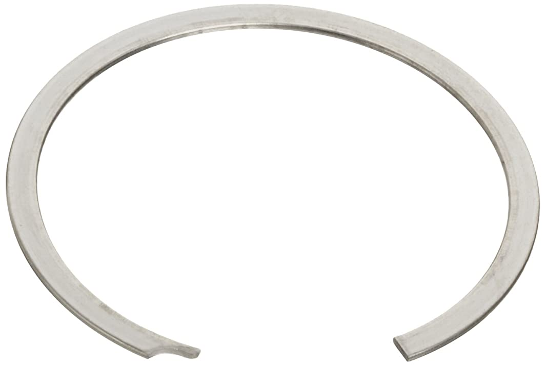 Standard Internal Retaining Ring, Spiral, 302 Stainless Steel, Passivated Finish, 1-3/64