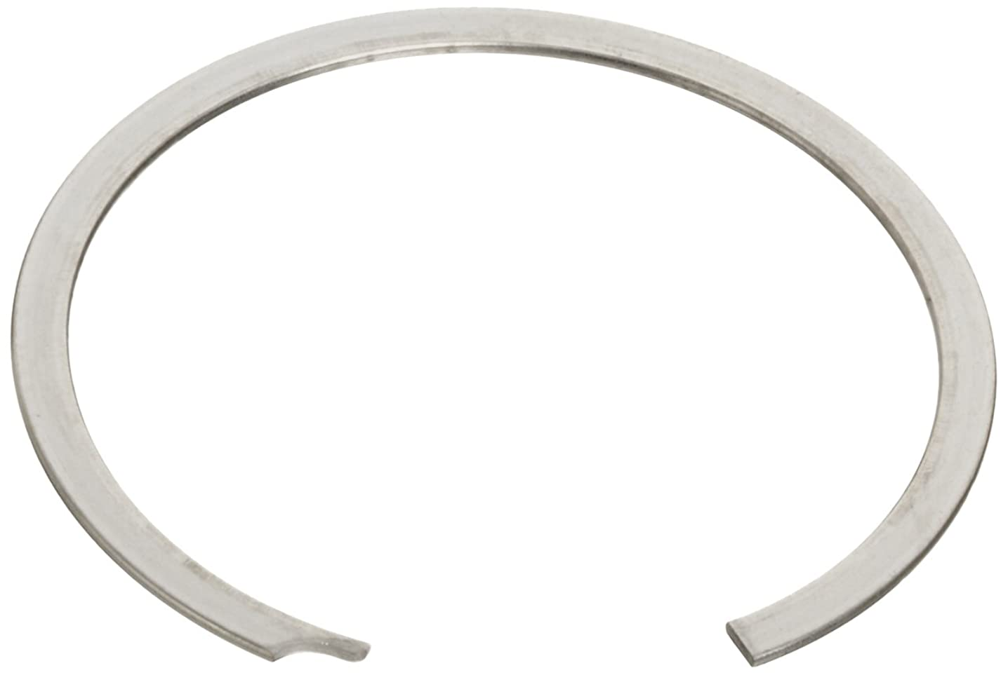 Standard Internal Retaining Ring, Spiral, 302 Stainless Steel, Passivated Finish, 1-3/4