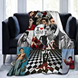 Bestrgi Ultra-Soft Micro Flannel Fleece Blanket 3D Printing Living Room Bedroom Cole Sprouse Comfort Throw Blanket Home Decor for Bed Couch Chair Sofa Travel for Adults Kids 50'x40'