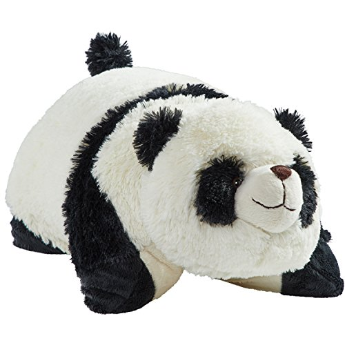 Pillow Pets Originals Comfy Panda, 18' Stuffed Animal Plush Toy