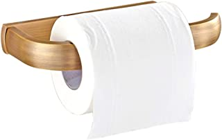 Toiletrolhouder, antieke retro-stijl, hoogwaardige volledig koperen structuur, met de hand gepolijst roestvrijstalen opper...