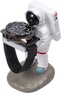 حوامل عرض KH Fun Wtach Holder - إكسسوارات ساعة ديكور للمنزل والمكتب (رائد فضائي)