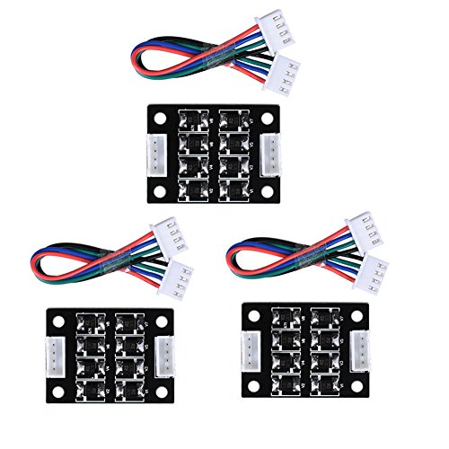 ARQQ TL Smoother Addon Module for Pattern Elimination Motor Clipping Filter 3D Printer Stepper Motor Drivers (Pack of 3pcs)