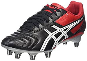 Asics Lethal Tackle Men's Rugby Boots, Black, AU8.5 from Asics