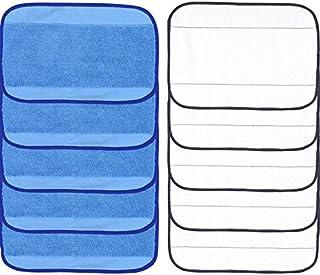 (Set 3) - Microfiber Replacement Mopping Cloths Mop Pads For iRobot Braava 380 380t 320 321 Mint 4200 4205 5200 5200C Robo...
