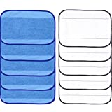 Microfiber Replacement Mopping Cloths Mop Pads Compatible with iRobot Braava 380 380t 320 321 Mint 4200 4205 5200 5200C Robotic Vacuum Cleaners (5 Wet & 5 Dry)