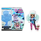 L.O.L. Surprise! O.M.G. Winter Chill ICY Gurl Fashion Doll & Brrr B.B. Doll with 25 Surprises (570240)
