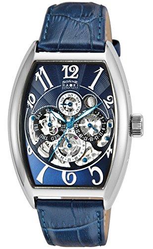 [ゾンネ] 腕時計 SONNE×HAORI PRODUCED ネイビー文字盤 自動巻 H015SS-NV ブルー