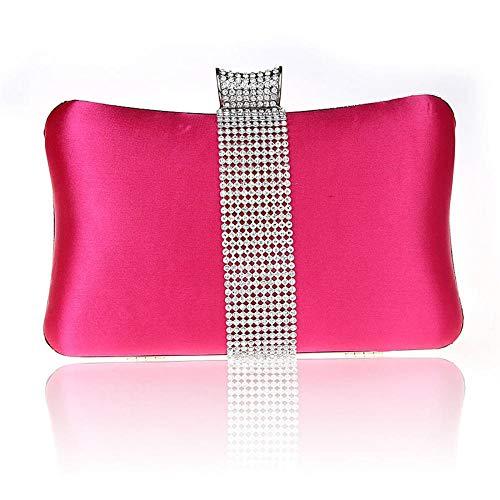 LCHENGJIN Women'S Diamond Strass Envelope Zijde Diner Tas Koppeling Jurk Koppeling Dames Koppeling