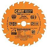 CMT 271.250.24M Lama Circolare Itk-Plus per Taglio Lungo Vena, Arancio