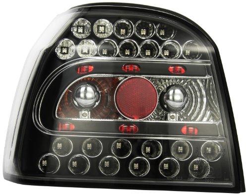 in.pro. 2212998 HD Rückleuchten LED klar VW Golf 3 91-97, schwarz