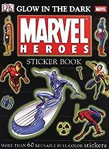 الملصق: على شكل كتاب المطلقة يتوهج في الظلام: مطبوع عليها Marvel Heroes (ملصق Ultimate كتب)