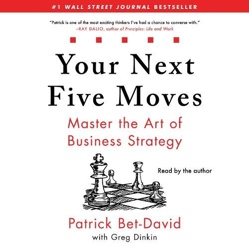 Your Next Five Moves  By  cover art