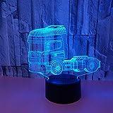 Nuevo camión Noche luz acrílico lámpara lámparas lámpara Infantil