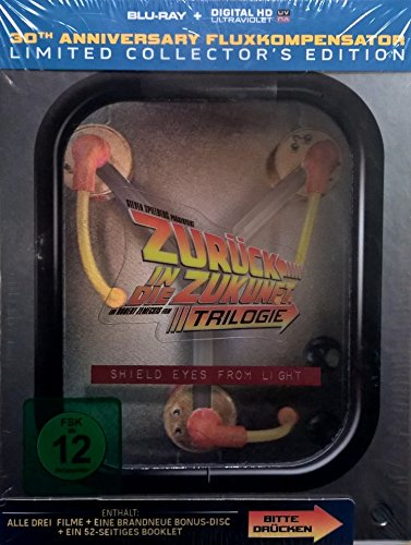 Zurück in die Zukunft Trilogie - 30th Anniversary Fluxkompensator Limited Collector's Edition [Blu Ray][Digital HD Ultraviolet]