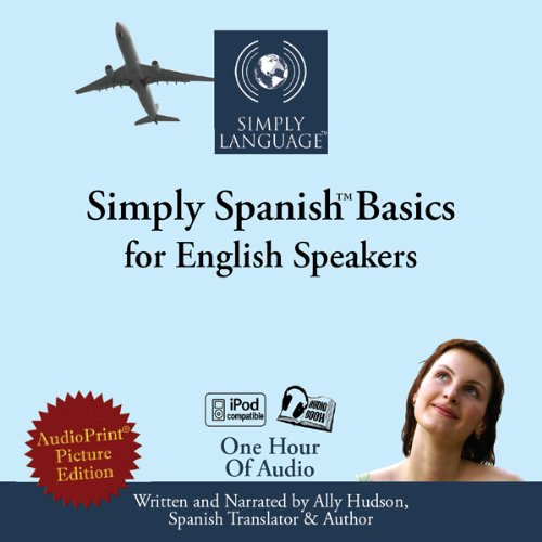 Simply Spanish Basics audiobook cover art