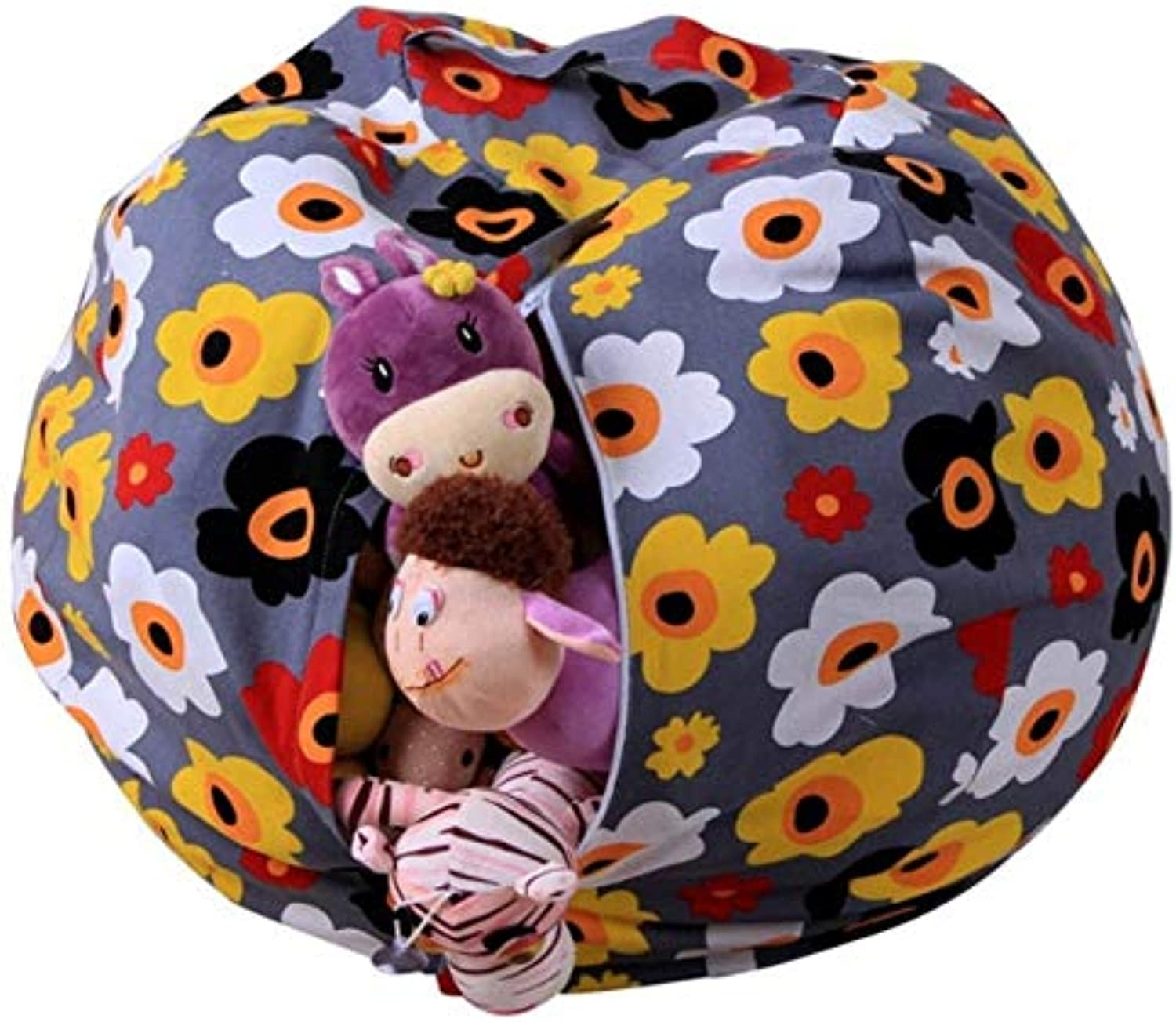 Toy Storage Bag  2 1 Portable Kid Toy Storage Bag Picnic Blanket Play Mat Organizer Box Practical Baby  Storehouse Suitcase Memory Purse Udder Cup Tea Board Pocketbook  1PCs