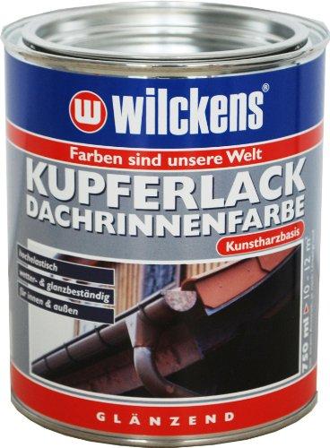 Wilckens kupferlack Dachrinnenfarbe, kupfer, 750 ml 10985100050
