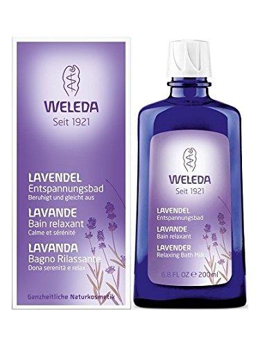 Bain relaxant à la Lavande - Weleda (200 ml) - Il est envoyé avec: échantillon gratuit et une carte superbonded que vous pouvez utiliser comme signet!