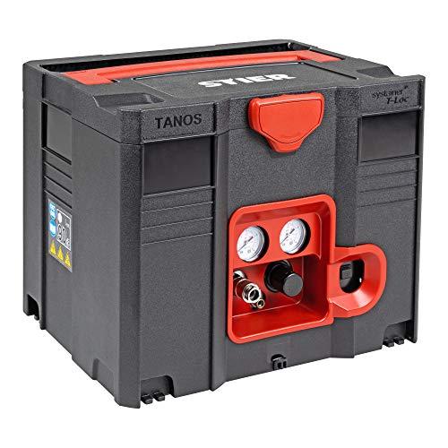 STIER Systainer Kompressor SKT 160-8-6, ölfrei, 1.100 W Motorleistung, SysMaster kombinierbar mit anderen Systainern, Druckluft, Mobiler Kompressor - 3