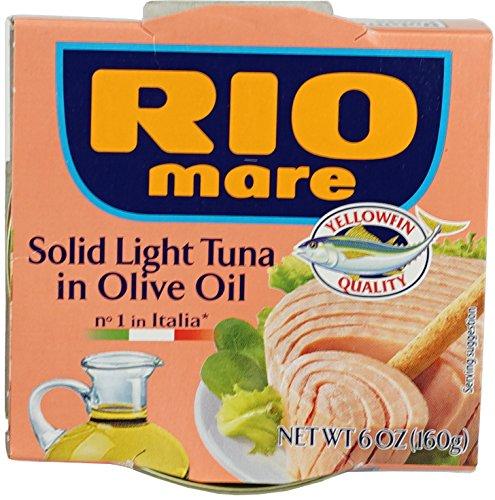 Rio Mare Rio Mare Tuna In Olive Oil, 160 Gram (Pack of 12)